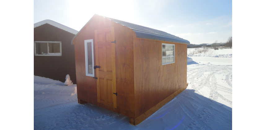 Peacock Woodcraft The Deluxe Ice Hut