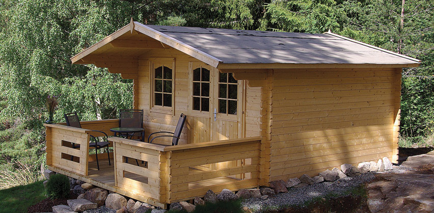 Peacock Woodcraft The Maria Cabin