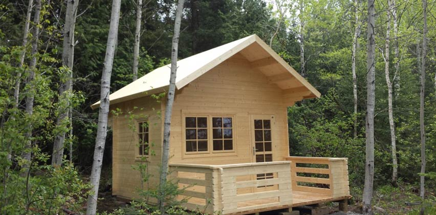 Peacock Woodcraft The Peacock Lofted Bunkie
